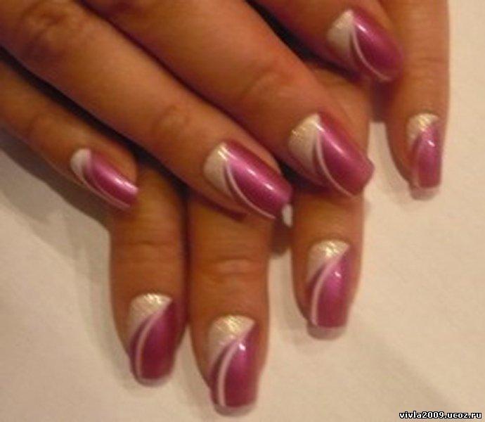 Накладные ногти дизайн фото